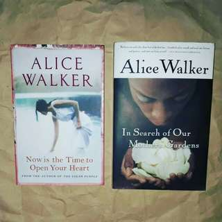 Alice Walker set
