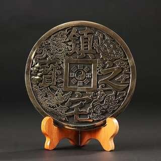 【禮贊精品文物館·四方神獸】銅雕四方神獸典藏文物意境開運招財擺設居家生活美化環境
