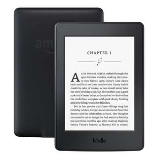 """[IN-STOCK] Kindle Paperwhite E-reader - Black, 6"""" High-Resolution Display (300 ppi) with Built-in Light, Wi-Fi"""