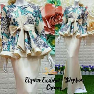 Elzara Exclusive Peplum