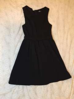 Dotti LBD little Black Dress skater dress