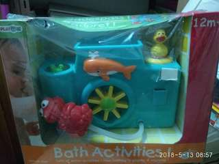 Toys for baby during bath time