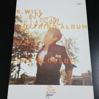 K.Will - The 3rd Album Part 2, Love Blossom