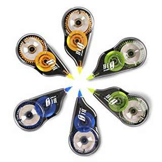 BIG correction tape 1box(6pc)