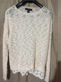 ‼️ SALE : F21 KNITTED SWEATER
