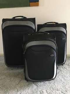 Luggage set of 3 Rollac Australia