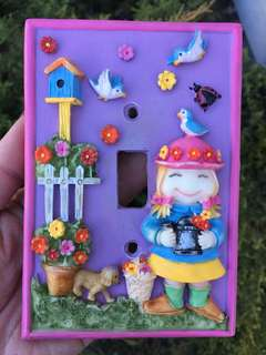 Light switch cover