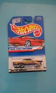 65 impala low rider hot wheels