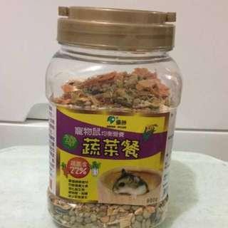 🚚 倉鼠健康蔬菜餐 鼠飼料