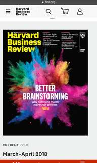 Harvard Business Review - March-April 2018 issue