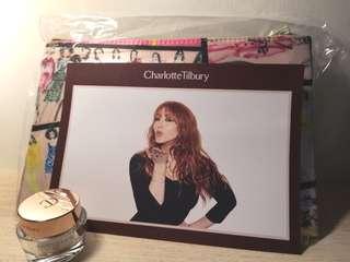 Charlotte Tilbury magic cream 15ml +Lane Crawford makeup pouch