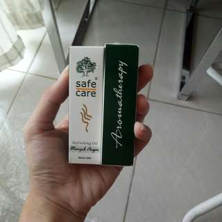 Minyak Angin Safecare Aromatherapy 10ml safe care Aroma Therapy