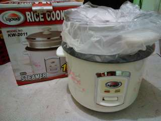 Kyowa 1liter Rice Cooker with Steamer