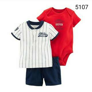 3in1 Carter's all star set