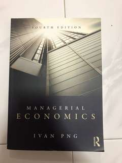Managerial Economics Investments