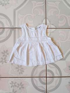 White blouse for 2 years old