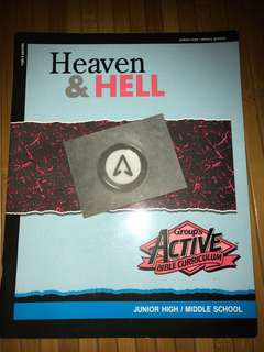 Bible-Study Book: Heaven & Hell (junior high / middle high)
