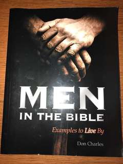 Christian Book: Men in the Bible by Don Charles