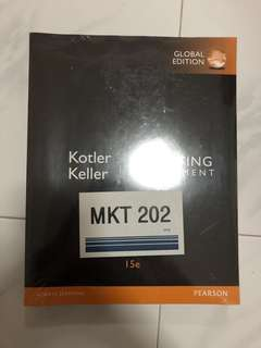 Calculus Textbook MKT202