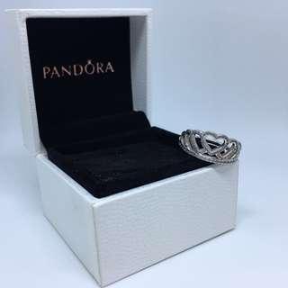 Pandora 心心皇冠戒指
