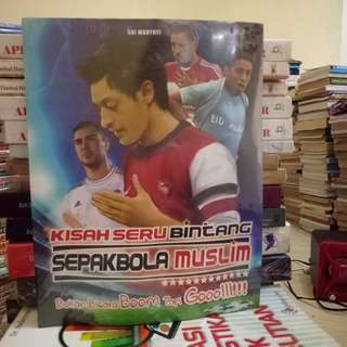 Buku Kisah Seru Bintang Sepakbola Muslim