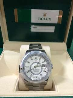 Rolex Sky dweller white (new)