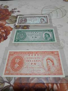 Hong Kong old Currency