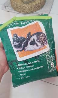 Premium Show rabbit food