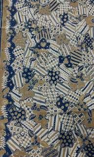 Kain Batik tulis pewarna Alam