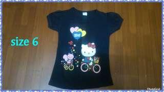 T shirt size 6