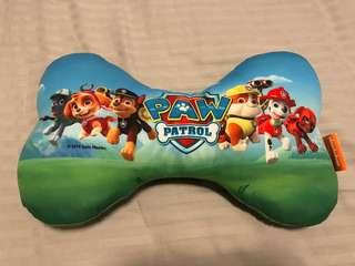 Paw patrol bone-shaped pillow