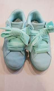 Authentic Puma Suede Bow Shoes