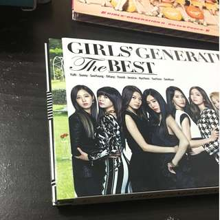 少女時代 girls generation the best 專輯 (CD+DVD)