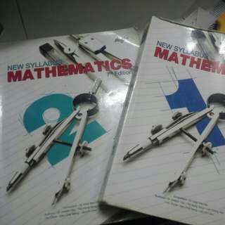 Secondary 1 & 2 math textbooks