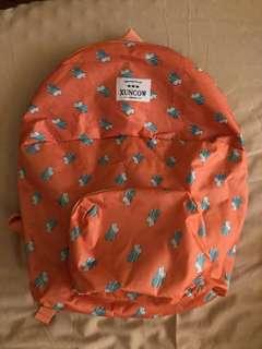 Backpack foldable