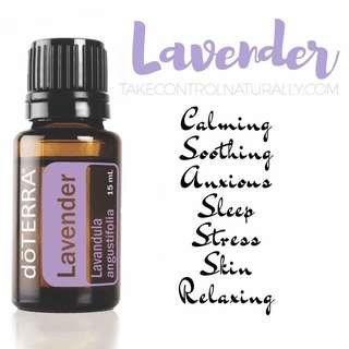 Lavender / Tea tree / Lemongrass Essential Oil