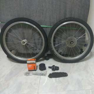 406 Wheelset (& extras)