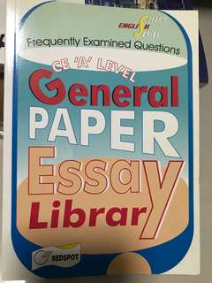 GP 'A' Level Essay Library