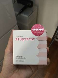 Etude House Any Cushion All Day Perfect Upgrade (Y04 Beige)