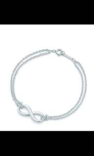 Tiffany and Co Infinity Bracelet