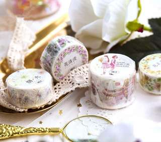 (PO) Floral Dreams Washi Tapes