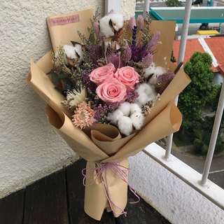 Everlasting Fleur Bouquet (PINK) SOLD OUT