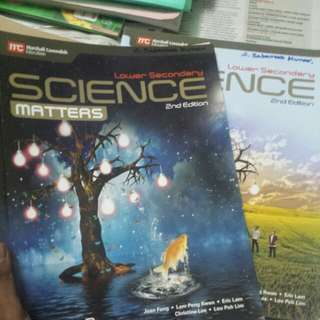 Lower Secondary Science Matters edition 1&2