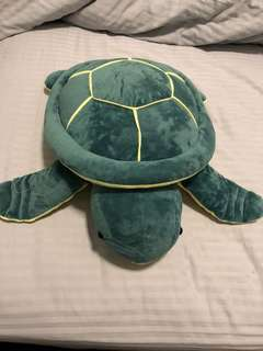 Giant turtle stuff toy