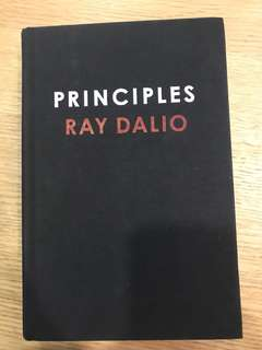 Ray Dalio - Principles - Hard Back