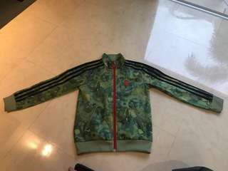 Adidas Jacket kids camo print 7-8 years