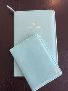 Travel Journal & passport wallet