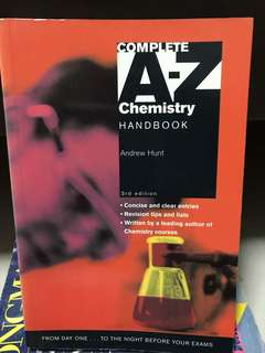 Chem A-Z Topics Handbook