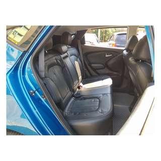 2010年 現代IX35 藍色 2.0 陽春 二手車中古車