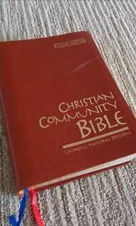 Christian Community Bible (Anybody know where I can find this bible?)